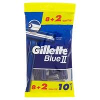 Gillette Usa E Getta Blue Ii Std 8 + 2