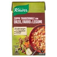 Segreti Della Nonna Zuppa Tradizionale Con Orzo , Farro E Legumi Knorr
