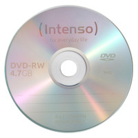 Confezione Singola Dvd-Rw 4,7gb Speed 16x Intenso