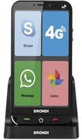 Smartphone Amico Smartphone 4G Brondi Nero