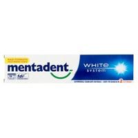 Dentifricio Mentadent White