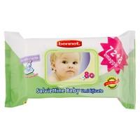 Salviettine Baby Bennet 72 + 8