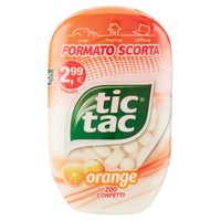Tic Tac 100 Orange 200 Confetti Ferrero