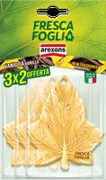 Profumatore Auto Vaniglia Fresca Foglia Arexons Confezione 3 x 2