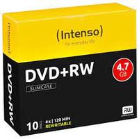 Confezione Dvd+rw 4,7gb 4x Intenso