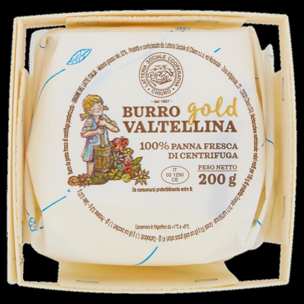 BURRO GOLD VALTELLINA