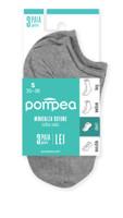 Minicalze Donna Tg.35/38 Grigio Melange Pompea