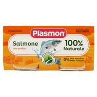 Omogeneizzati Plasmon Al Salmone Con Patate 2 Da Gr . 80