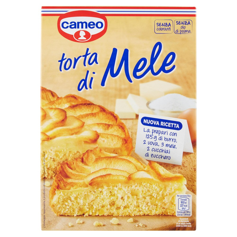 TORTA MELE CAMEO