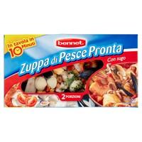 Zuppa Di Pesce Pronta Surgelata Bennet