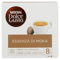 Essenza Di Moka Caffè 16 Capsule ( 16 Tazze ) Nescafé Dolce Gusto
