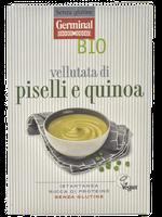 Vellutata Di Piselli E Quinoa Senza Glutine Bio Germinal