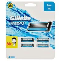 4 Ricariche Gillette Mach 3 Start