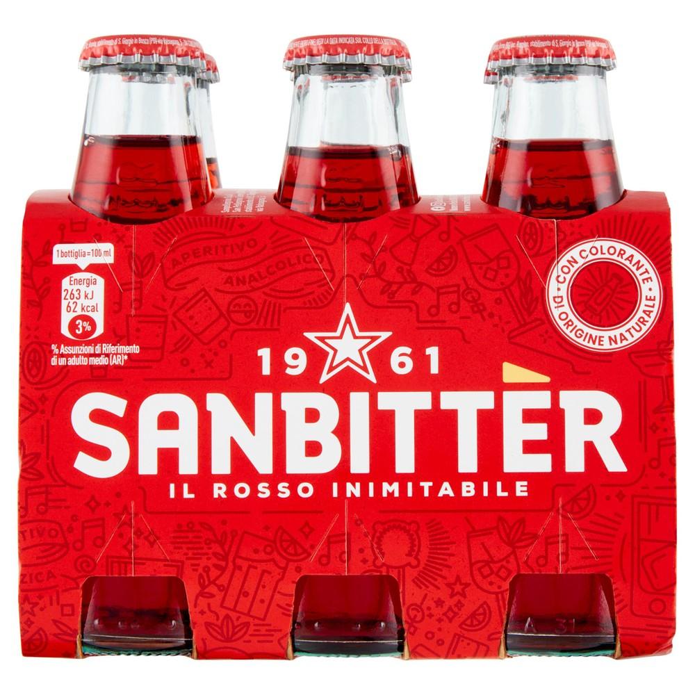 SANBITTER ROSSO 6 X100