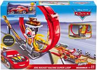 Playset Pista Rocket Racers Cars Super Loop Mattel