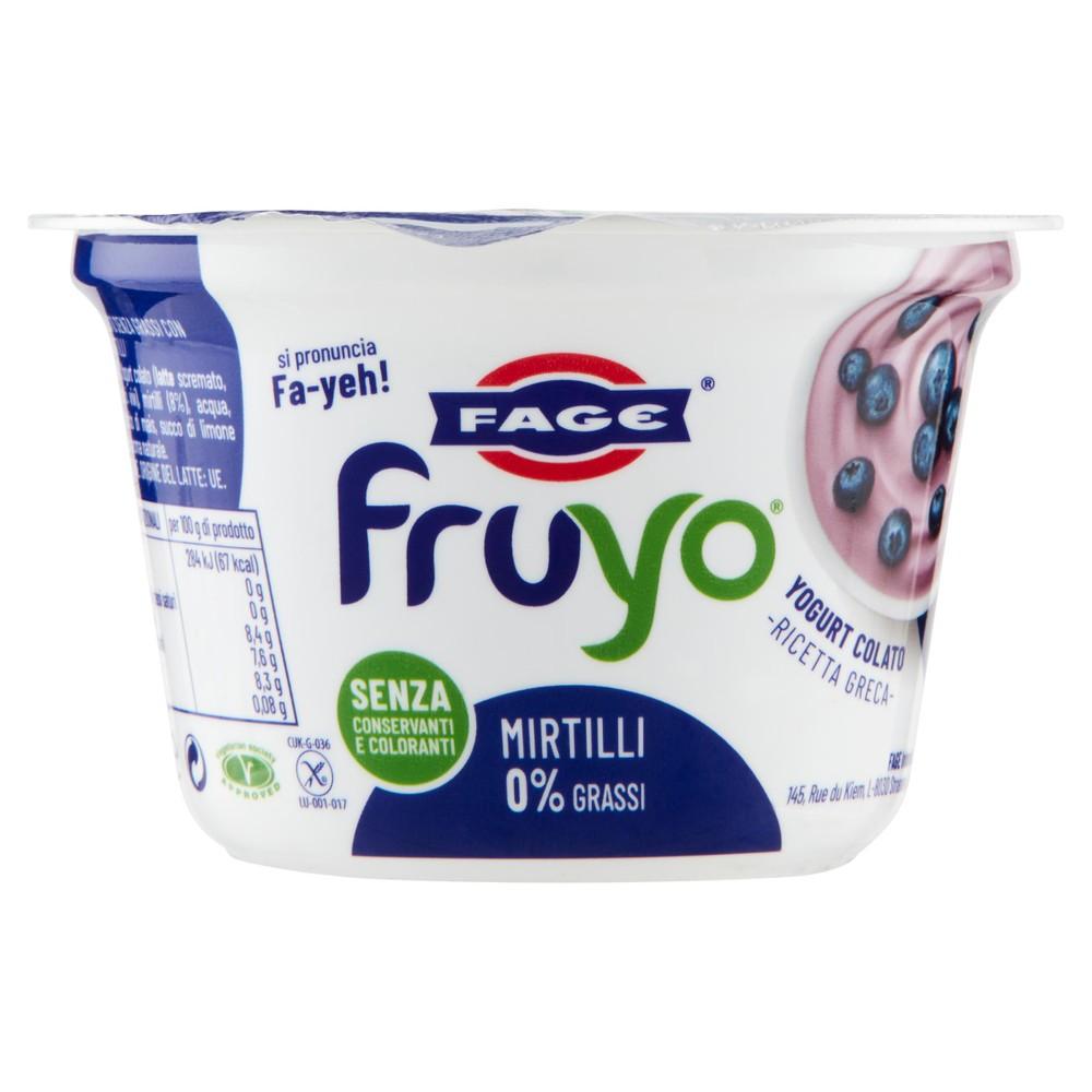 FRUYO 0% MIRTILLI