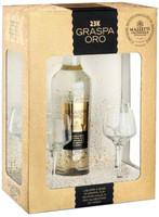 Graspa Oro Mazzetti + 4 Bicchieri