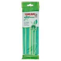 Cannucce In Bioplastica Biodegradabili E Compostabili Samurai 24cm, Con