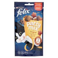 Snack Per Gatti Pollo Fegato E Salmone Partymix Felix