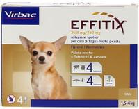 Effitix Toy Antiparassitario Per Cani Di Peso Kg . 1 , 5 / 4