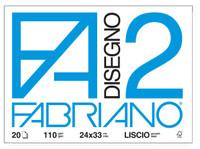 Fabriano Album 20 Fogli 24 x 33 Liscio
