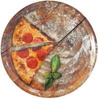 Piatto Pizza Fetta Di Pizza Casa