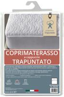 Coprimaterasso Ventotene 2 pz Cm 165 x 195 Imbottito E Trapuntato