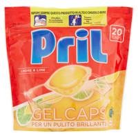 Detergente Per Lavastoviglie Al Limone In Gel Caps Pril