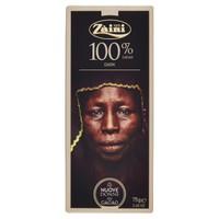 Tavoletta Cioccolato Fondente 100 % Zaini