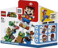 Starter Pack Percorso Di Base Con Super Mario Lego