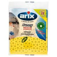 Panno Giallo Multiuso 36 x 38 Sunny Arix Conf . da 3