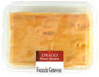 Focaccia Croccante Genovese All ' olio Di Oliva