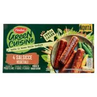 Salsiccia Vegetale Findus 4 Da Gr . 50