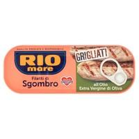 Filetti Di Sgombro Grigliati All ' olio Extra Vergine Di Oliva ( 10 % ) Rio