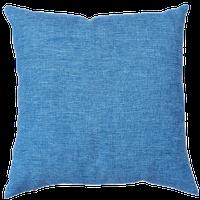 Cuscino Arredo Con Zip Cm 55 x 55 Azzurro