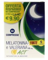 Melatonina Forte 5 Complex E Valeriana Act Compresse