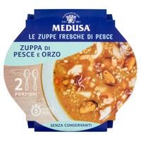 Zuppa Di Pesce E Orzo Medusa