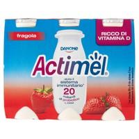 Actimel Fragola Danone 6 Da Ml . 100