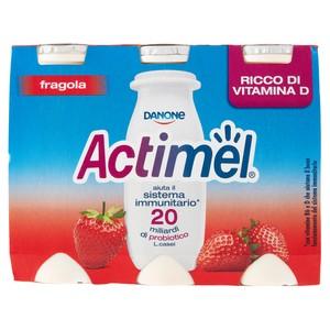 ACTIMEL FRAGOLA X6