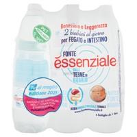 Acqua Naturale Fonte Essenziale 6 Da L . 1