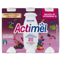 Actimel Ribes Nero Acai Danone