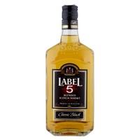 Scotch Whisky Label Five