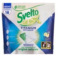 Detergente Per Lavastoviglie In Tabs Al Limone Svelto Titanium