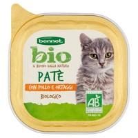 Pate Per Gatti Con Pollo E Ortaggi Bennet Bio