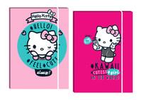 Cartellina Elastico 3 Lembi Dorso Cm.1,Cm.25x 34 Hello Kitty - Plastif