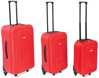 Set 3 Trolley Rosso 45 cm / 55 cm / 65 cm