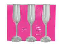 3 Flute Champagne