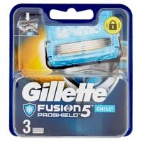 Lamette Di Ricambio Fusion 5 Proshield Chill Gillette, 3pezzi