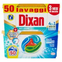 Detersivo Per Lavatrice Dixan Discs 2 Da 25 Cad.