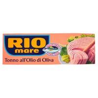 Tonno All ' olio Di Oliva Rio Mare 3 Da Gr . 80